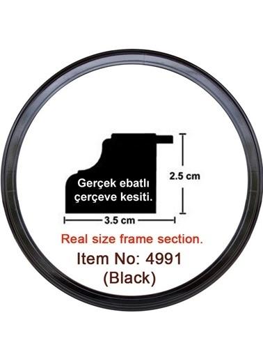 Educa Heidi Daire Çerçeve Siyah 3.5 Cm 4991 Renkli